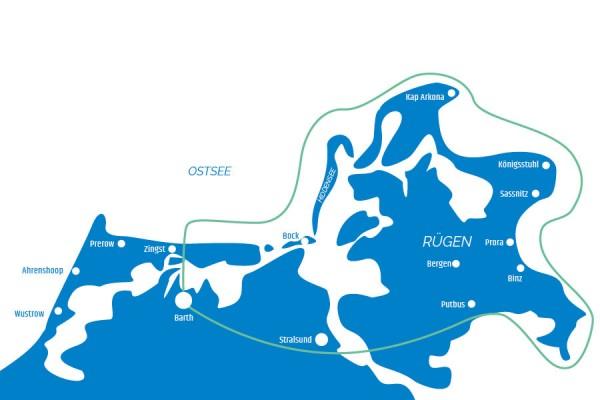 Tour F - Rund um Rügen